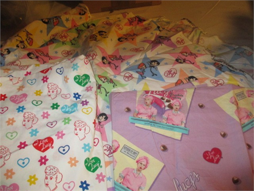 I Love Lucy fabric