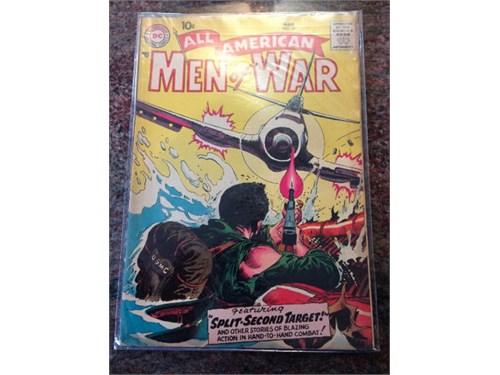 All American Men ofWar 55