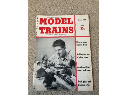 Model Trains Jan 1957