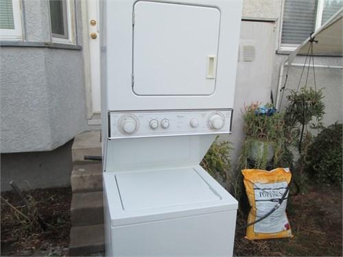 washer dryer stack set