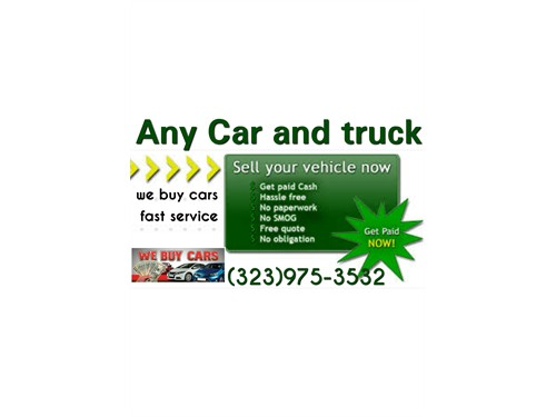Cash today for your car