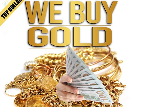 CASH for GOLD TOP DOLLAR