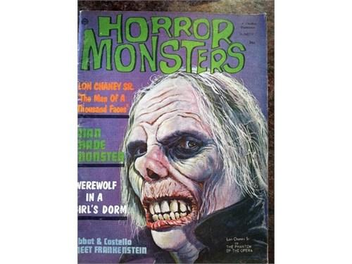 Horror Monsters #7, 1963