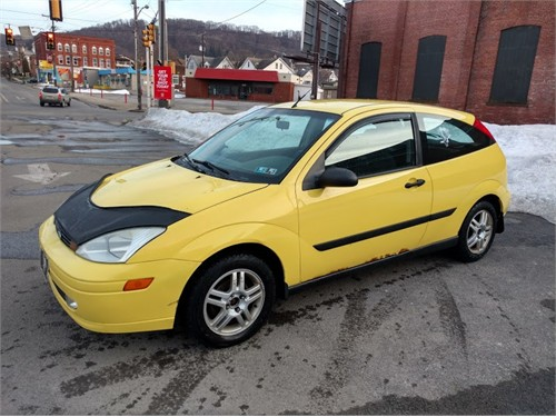 2002 ford focus zx3 cars and vehicles johnstown pa. Black Bedroom Furniture Sets. Home Design Ideas