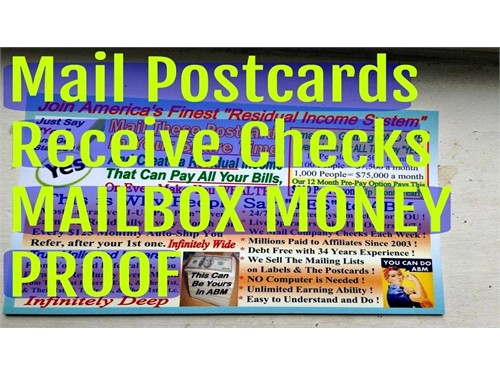 Earn By Mailing Post Card