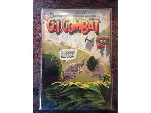 """DC """"G.I. Combat"""" #51 1957"""