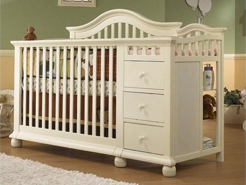 Convertible Crib, Changer