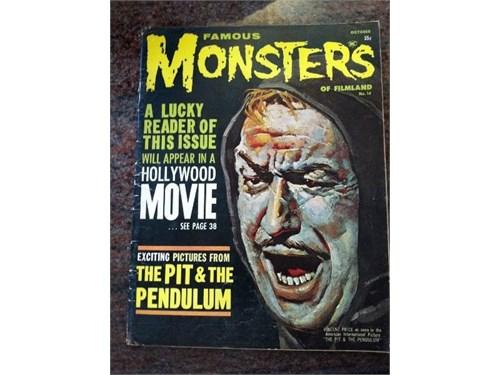 Famous Monster #14, 1961