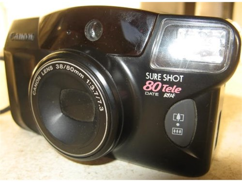 Canon Sure Shot *TESTED*