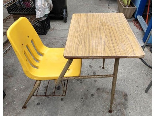 Vintage Virco Table/Chair