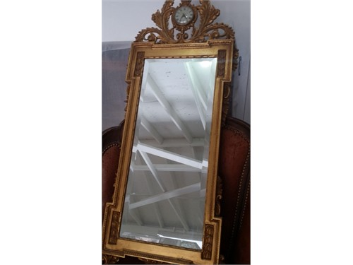 Hand Carved,Gilded Mirror