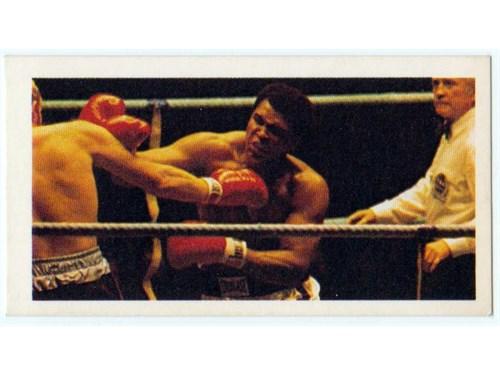 Rare UK Muhammad Ali Card
