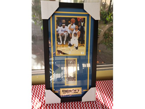 Steph Curry picture frame