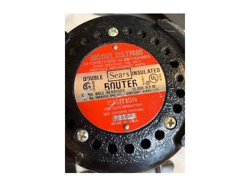 Craftsman Power Router
