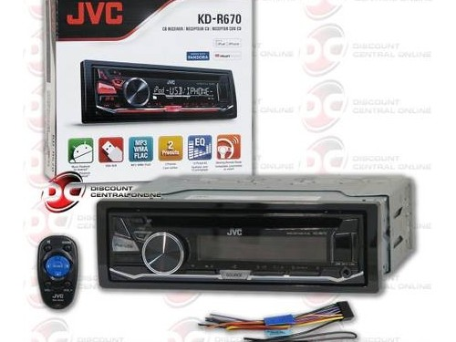 """NEW"" JVC KDR670 CAR CD"