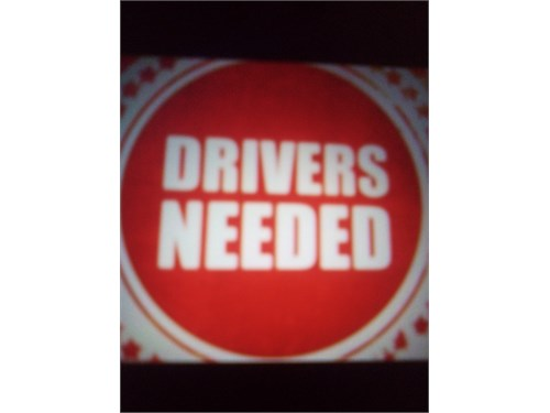 Drivers Wanted!! ($65.00)