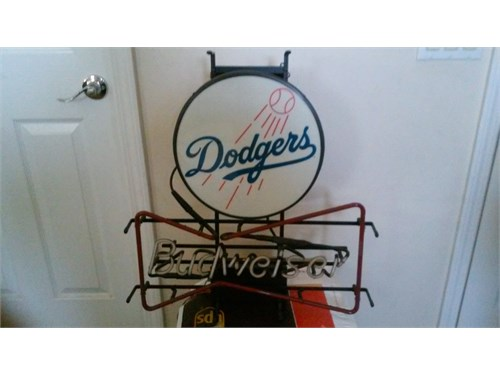 collectable DODGERS neon