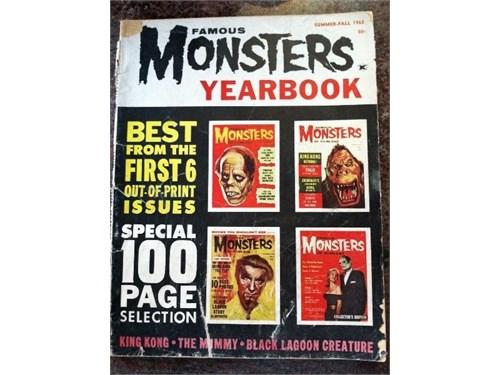Famous Monsters Yrbk 1962