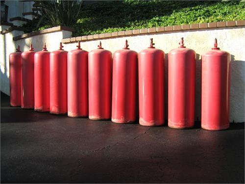Large Acetylene Cylinders