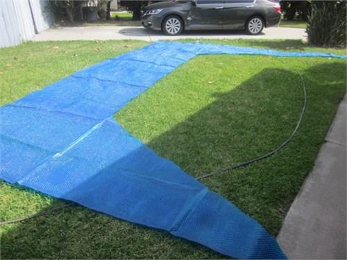 Leftover Pool Solar Cover