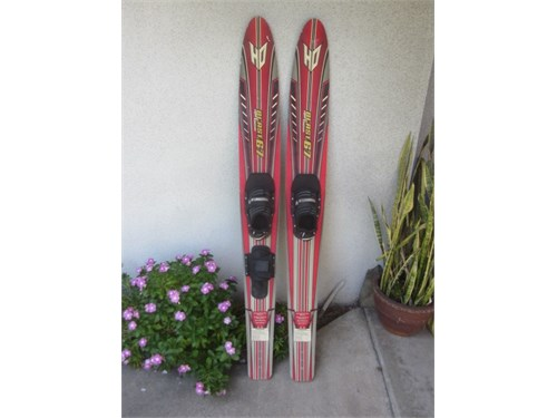 HO COMBO WIDE WATER SKIS