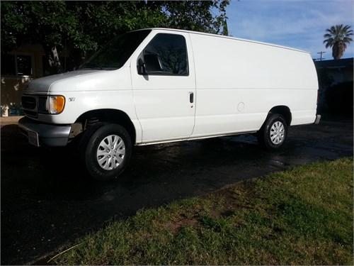 2001 Ford E250 ext cargo