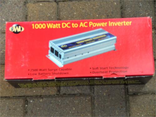 1000 / 2500 PEAK INVERTER