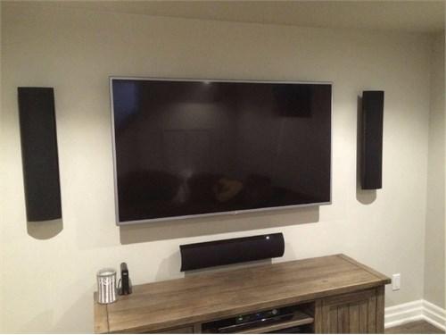 Alan's TV Mounting $120