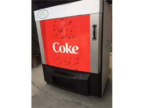 COKE REACH IN COOLER