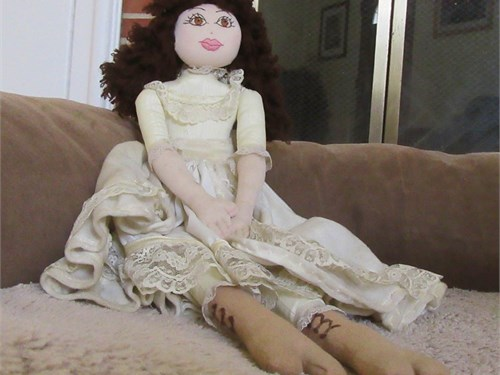 Hand-made Rag Doll