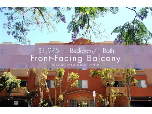 1 Bed-FrontFacing Balcony