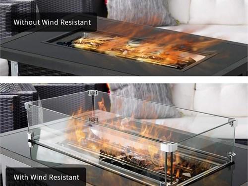 Glass Fire Pit