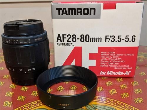 Tamron AF28-80mm