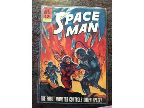 Dell Space Man Comic