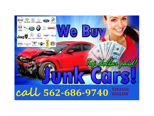 Cash for cars/junk cars