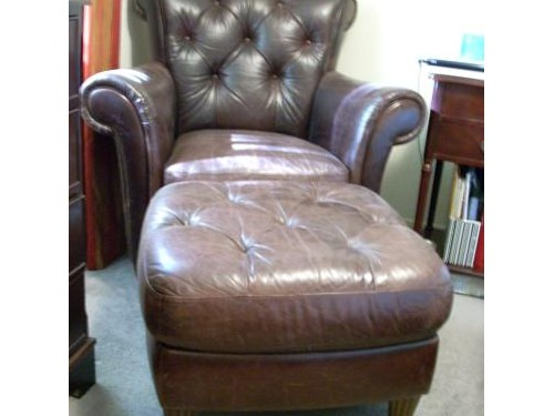 Chair leather like new