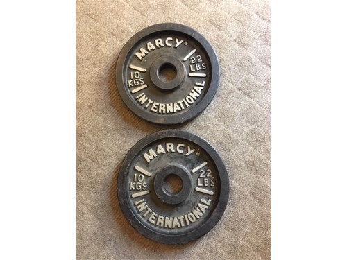 2-22 LB Olympic weights