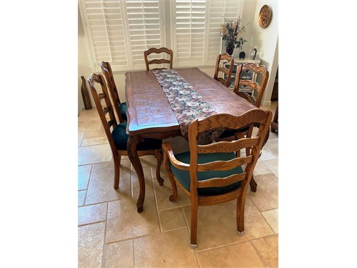 Dining Chairs Solid Oak -