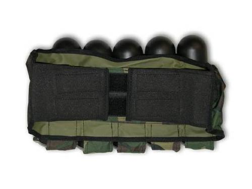 5 Tubes Paintball Harness