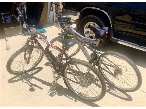 Bicycles (TWO) For Sale