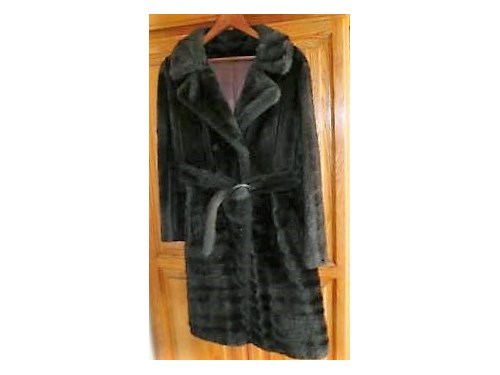IMITATION FUR COAT -