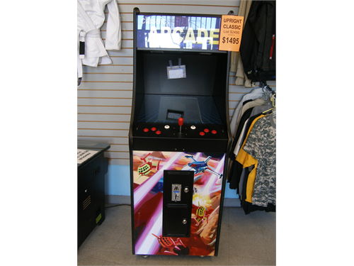 Coin Op Arcade Game NEW
