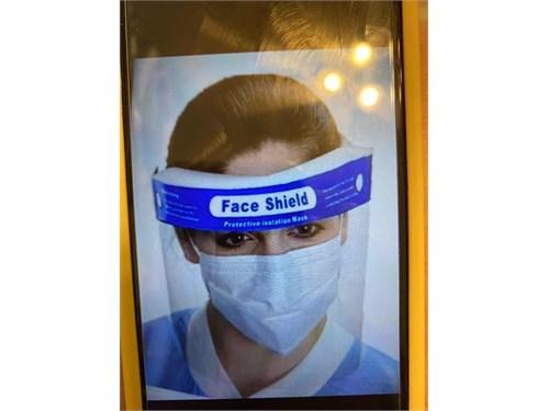 face shield antivirus