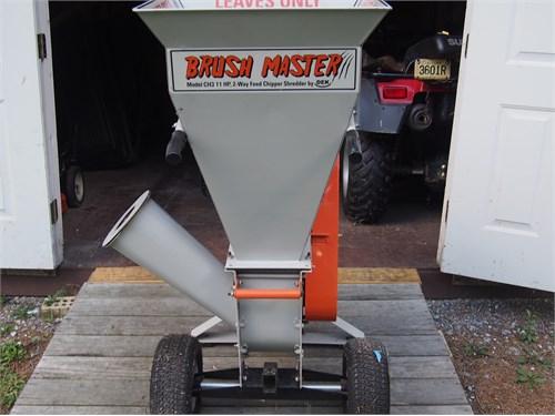 Brushmaster 11 Hp Chipper