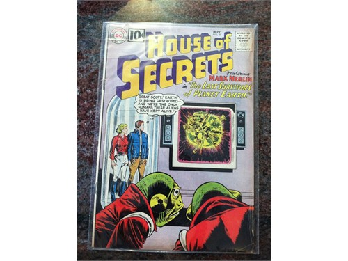 D.C. House Of Secrets #50