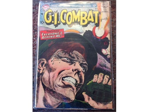 """DC """"G.I. Combat"""" #53 1957"""