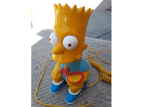 Bart Simpson telephone