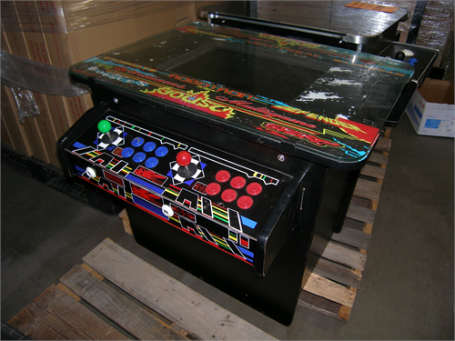 Coin Op Table Arcade Game
