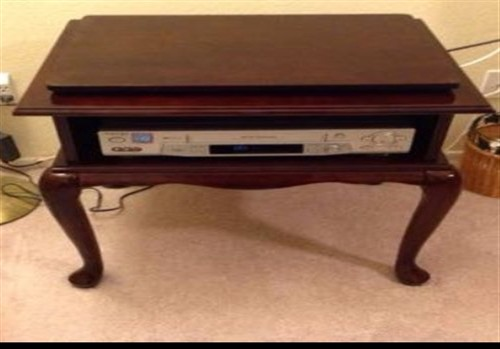 Swivel TOP Table for TV