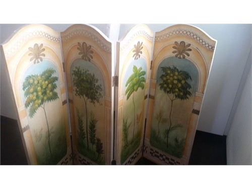 HandPainted ItalianScreen